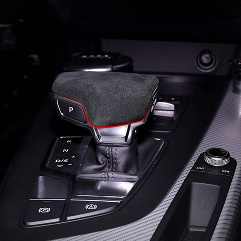 Pinalloy Synthetic Cashmere Gear Shift Head Cover For Audi A4L A5 2017-18 and Q7 2016-18 - Pinalloy
