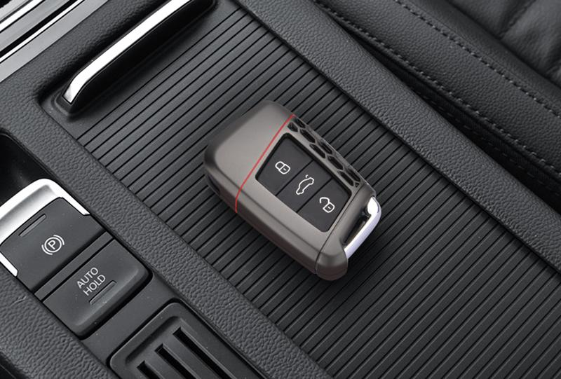 Pinalloy Metal Zinc Alloy Key Cover Case Skin Shell Fob For Volkswagen