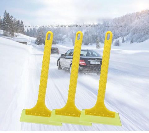 Pinalloy Ice Scraper with Brush Car Windshield Snow Removal Frost Telescoping Broom - Pinalloy