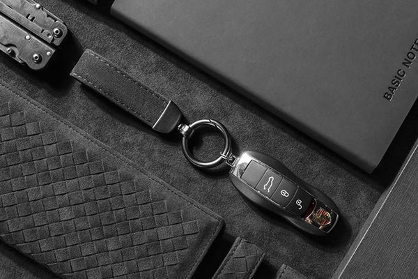 Pinalloy Synthetic Cashmere Made Fiber Car Key Chain Key Ring Gift Pack - Pinalloy