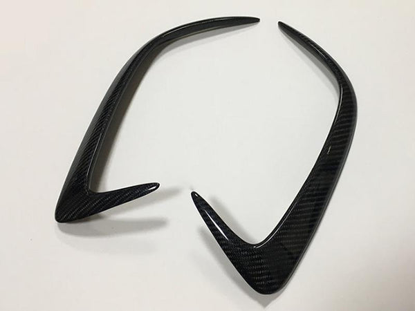 Pinalloy Carbon Fiber Canard/Air Vent Cover Trim for CLA200 Mercedes Benz W205 W117 2015-2016 - Pinalloy Online Auto Accessories Lightweight Car Kit