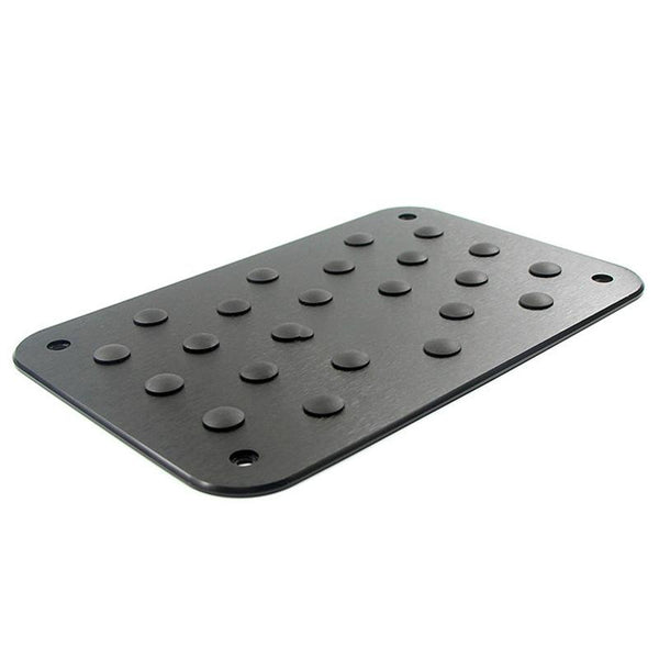Pinalloy Universal Car Auto Aluminum Floor Carpet Mat Pad Plate Pedal Foot Rest (Black) - Pinalloy Online Auto Accessories Lightweight Car Kit