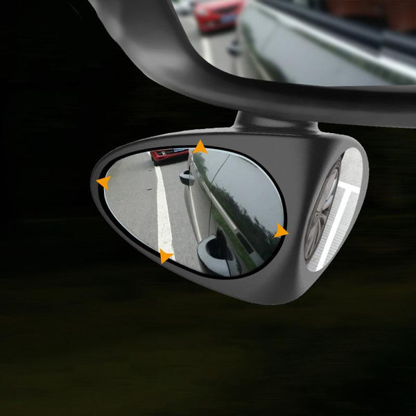 Pinalloy 2-way Universal Blind Spot Stick-On Car Side Mirrors for Traffic Safety Parking - Pinalloy Online Auto Accessories Lightweight Car Kit