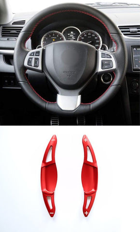 Pinalloy Red DSG Paddle Gear Shift Extension for SUZUKI 2014 - 2019 - Pinalloy Online Auto Accessories Lightweight Car Kit