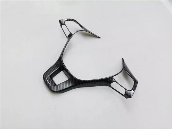 Carbon Fiber ABS Steering Wheel Trim Cover for VW Sport Style - Pinalloy Online Auto Accessories Lightweight Car Kit