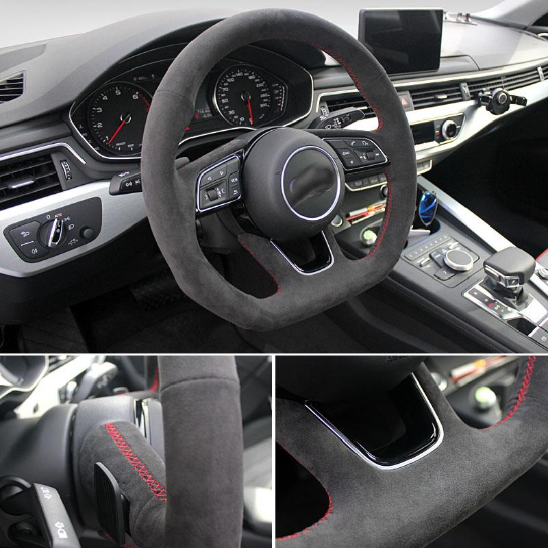 Pinalloy Synthetic Cashmere Steering Wheel Cover for Audi A4L - Pinalloy Online Auto Accessories Lightweight Car Kit