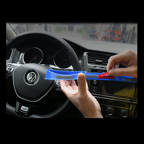 Pinalloy Red ABS Dashboard Panel Frame Trim for VW MK7 MK7.5