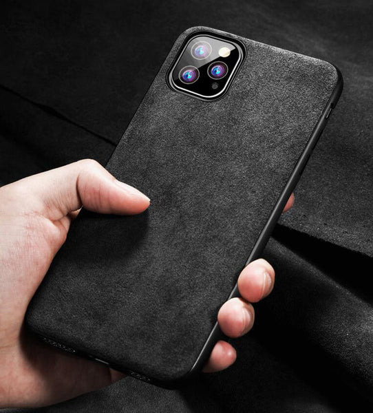 Synthetic Cashmere iPhone Case for all series X XR XS 11 Pro Max 12 mini Pro Max