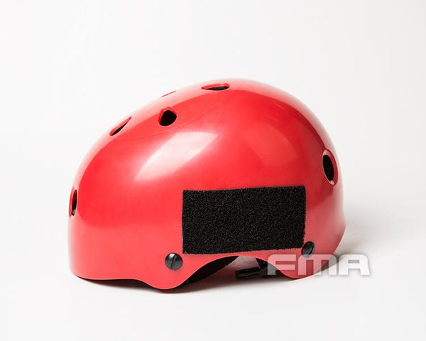 Pinalloy Go Green x FMA Red Helmet Head Protector for Skateboarding Longboarding Inline Bike X Game - Pinalloy Online Auto Accessories Lightweight Car Kit
