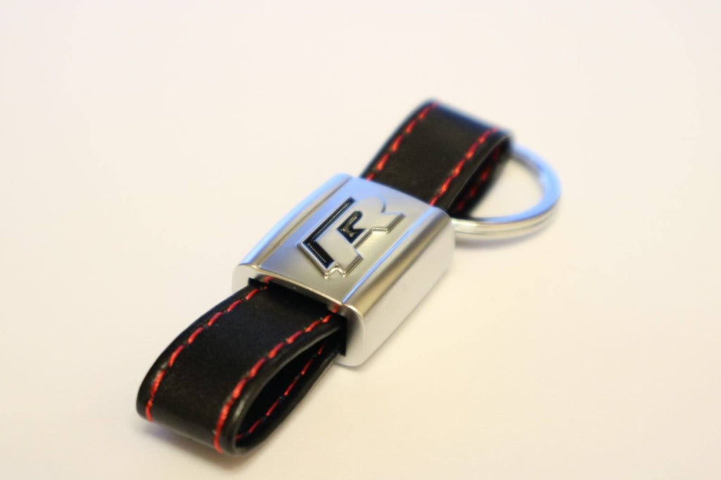 Pinalloy Black and Red VW R LINE Key Ring for VW R LINE VOLKSWAGEN POLO GOLF PASSAT SCIROCCO - Pinalloy