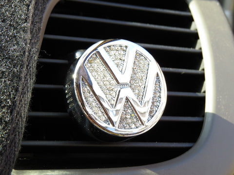 Pinalloy Car Air Freshener Fragrance Perfume with VW Volkwagen Emblem Logo - Pinalloy Online Auto Accessories Lightweight Car Kit