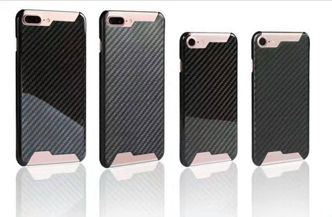 "Pinalloy New 100% Real Carbon Fiber Matt / Glossy Case Cover for iPhone 7 (4.7"") / 7+ (5.5"")"