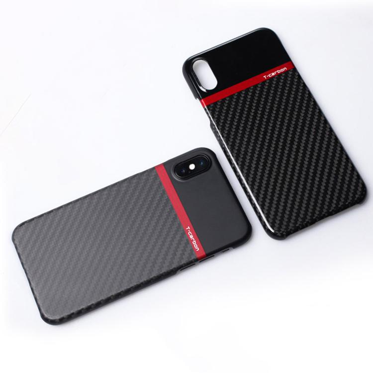 Pinalloy New 100% Real Black Carbon Fiber Matt / Glossy Case Cover for iPhone X - Pinalloy