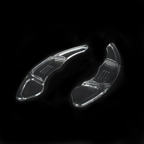 Pinalloy Transparent DSG Paddle Shifter Extensions for Automatic Steering Wheel of VW Golf MK7 Scirocco GTi R