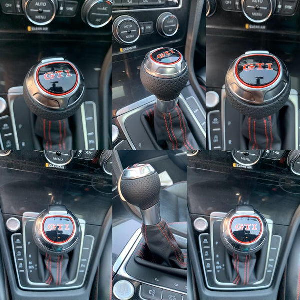 Gear Shift Knob GTI Wording For VW MK7 GTI - Pinalloy Online Auto Accessories Lightweight Car Kit