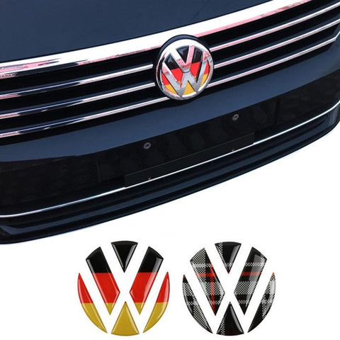 Pinalloy Front Rear Badge Emblem Sticker for Volkswagen VW MK7 7.5 Golf - Pinalloy Online Auto Accessories Lightweight Car Kit