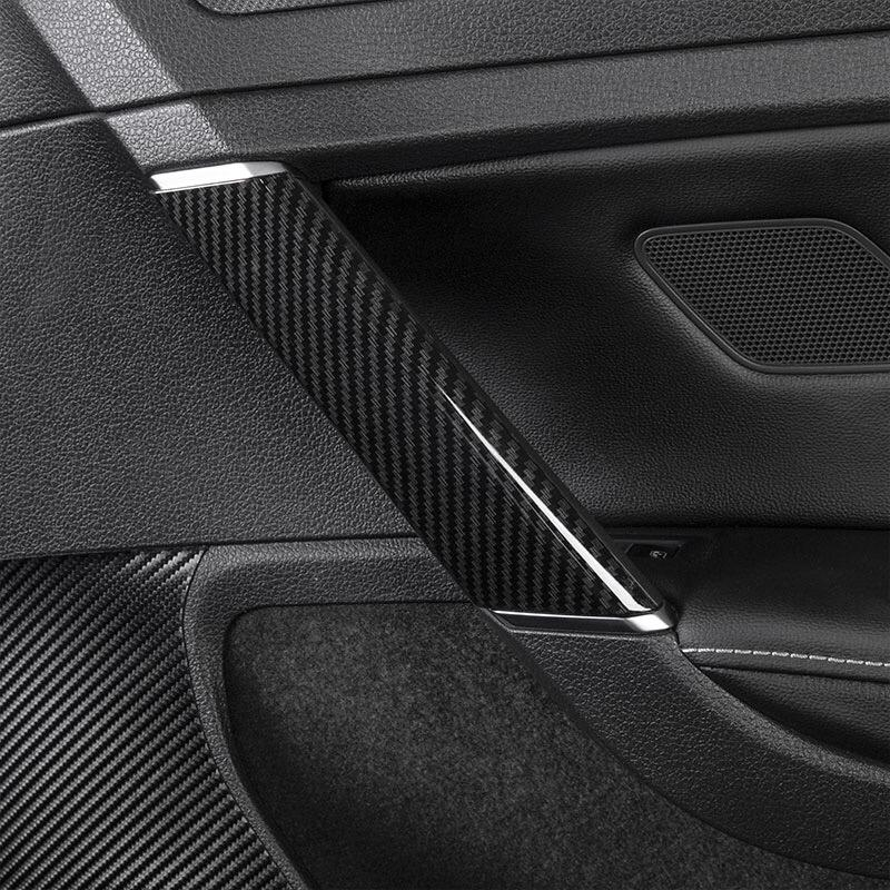 ABS with Carbon Fiber Pattern Interior Control Frame in the For VW Golf 7 left-hand Drive Model - Pinalloy Online Auto Accessories Lightweight Car Kit