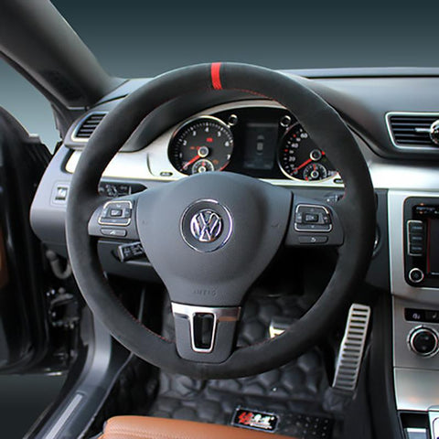 Pinalloy Synthetic Cashmere Steering Wheel Cover for Volkswagen VW MK6 - Pinalloy Online Auto Accessories Lightweight Car Kit