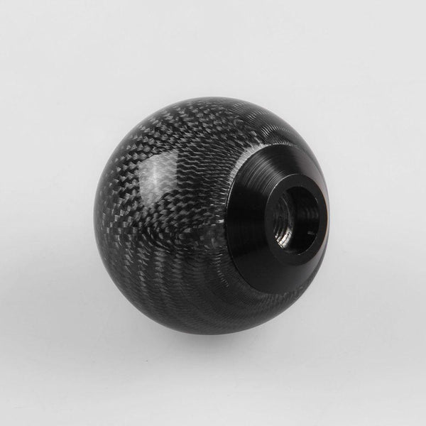 Pinalloy Universal Carbon Fiber Gear Shift Knob Round Ball Shape For Universal Car - Pinalloy Online Auto Accessories Lightweight Car Kit