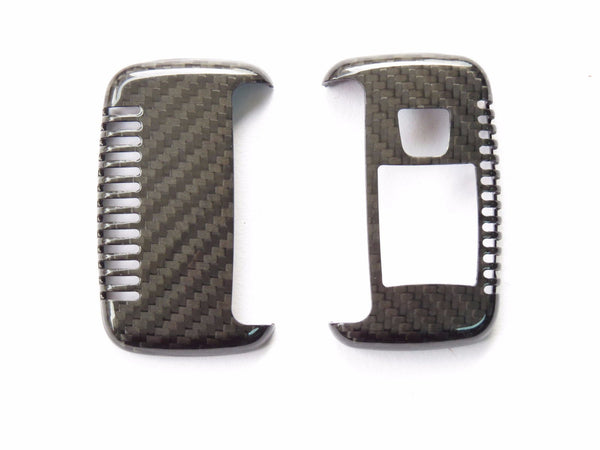 Deluxe Real Carbon Fiber Remote Key Cover  Skin Shell for Range Rover - Pinalloy Online Auto Accessories Lightweight Car Kit