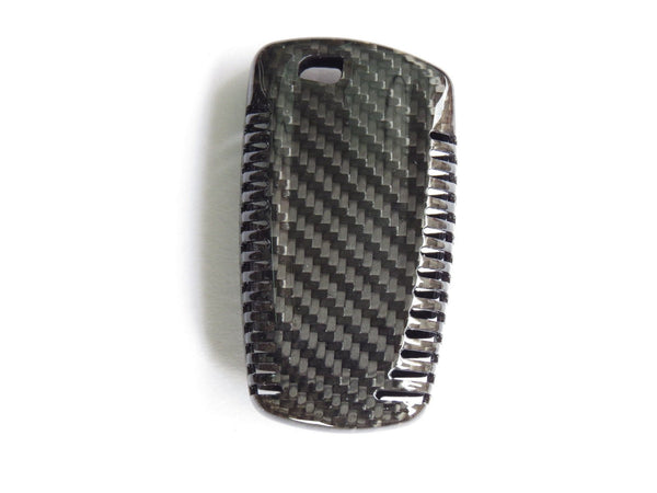 Deluxe Real Carbon Fiber Remote Key Cover Case Shell for BMW 1 3 5 7 - Pinalloy