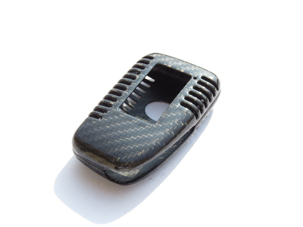 Deluxe Real Carbon Fiber Remote Key Case Shell for Lexus ES RX NX IS LX GS Series for 2 or 3 button - Pinalloy Online Auto Accessories Lightweight Car Kit