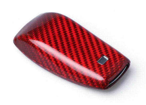 Pinalloy Red Carbon Fiber Case for 2017 MERCEDES BENZ W213 - Class Smart Key Fob - Pinalloy