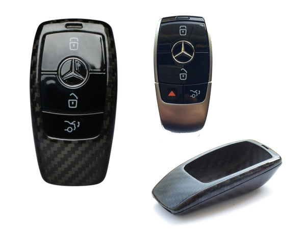 Pinalloy Carbon Fiber Case for 2017 MERCEDES BENZ W213 - Class Smart Key Fob - Pinalloy Online Auto Accessories Lightweight Car Kit