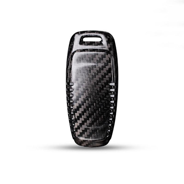 Real Carbon Fiber Smart Key Case for Audi A6 C8 A7 A8 2018-19 - Pinalloy Online Auto Accessories Lightweight Car Kit