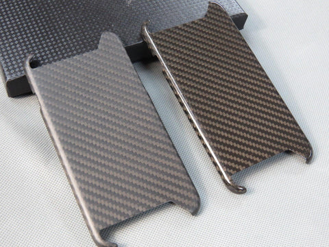"Deluxe Real Pure Carbon Fiber Matte Glossy Case Cover for iPhone 6 with 4.7 inch "" - Pinalloy"