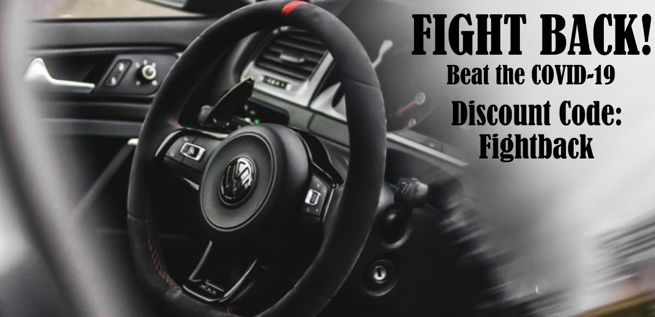 Pinalloy Steering Wheel Cover for VW MK7