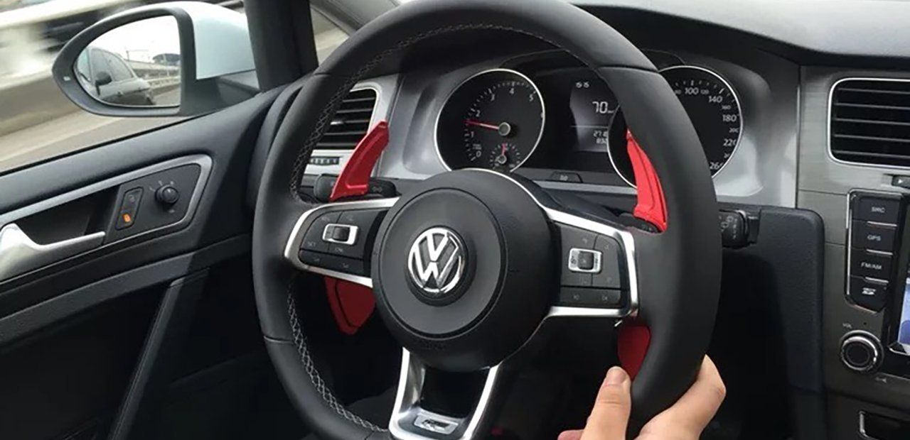 DSG Paddle Shift Extensions for Volkswagen MK7