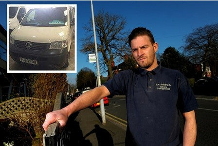 Joiner whose livelihood was left in ruins by thieves after £4,000 of tools stolen from Van in Grimsby