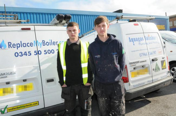 young plummers van tools stolen uk