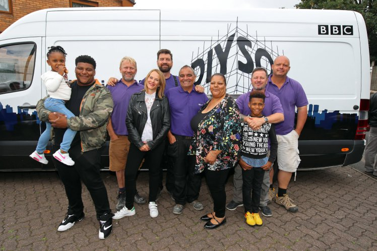 DIY SOS team have £4000 worth of tools stolen whilst helping family in West Bromwich