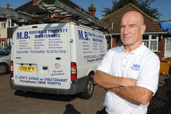 Malcolm Bembridge had tools stolen from his work van.