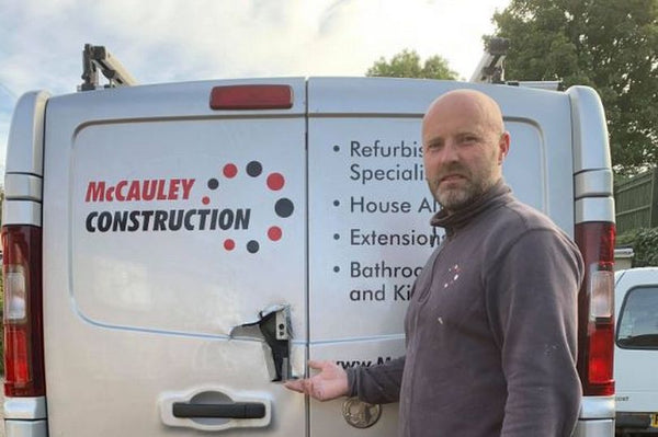 Builder's livelihood at stake after £4,000 worth of tools stolen from van