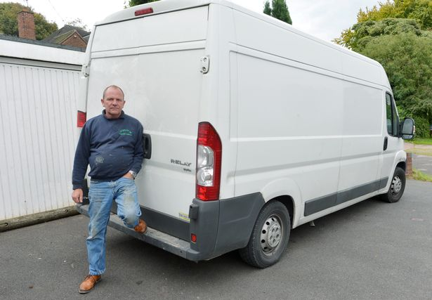 Watch the moment thieves appear to steal £5k of tools from van