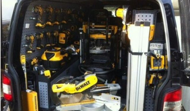 Work van with €10k worth of tools stolen near Celbridge