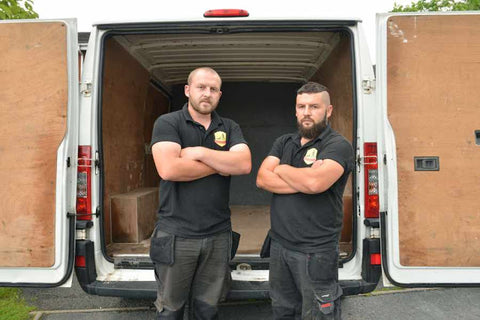 brothers-warning-as-gear-stolen-from-van-parked-B&Q
