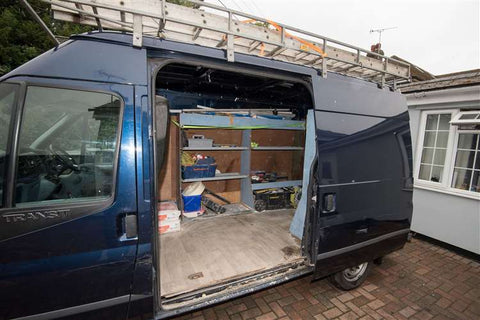 van tools stolen uk