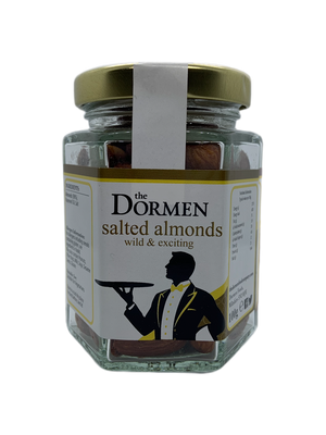 Salted Almonds Hexagonal Jar - The Dormen Food Company