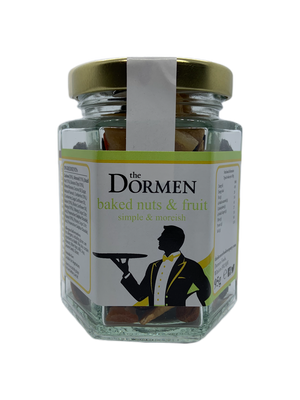 Baked Nuts & Fruit Hexagonal Jar - The Dormen Food Company