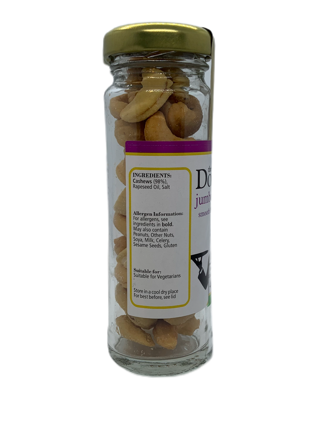 Salted Cashews Bartec Jar (Trade) - The Dormen Food Company