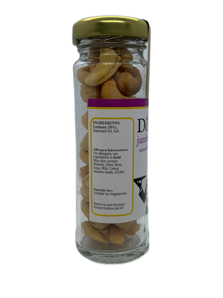 Salted Cashews Bartec Jar