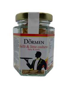 Chilli & Lime Cashews Hexagonal Jar (Trade) - The Dormen Food Company