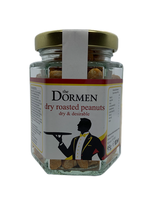 Dry Roasted Peanuts Hexagonal Jar - The Dormen Food Company