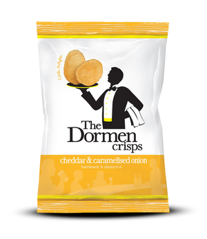 Cheddar & Caramelised Onion Crisps, 24 x 40g - The Dormen Food Company