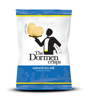 Lightly Sea Salted Crisps, 24 x 40g - The Dormen Food Company
