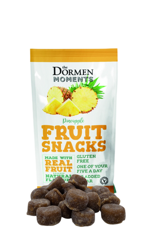 Fruit Snacks; Pineapple 18 x 40g - The Dormen Food Company